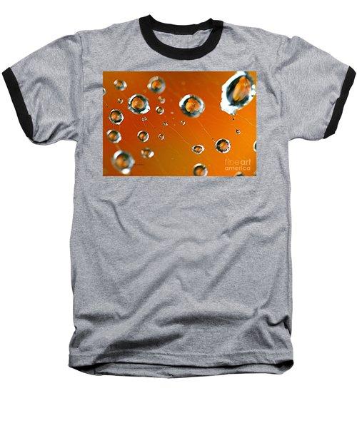 God Creation Baseball T-Shirt by Yumi Johnson