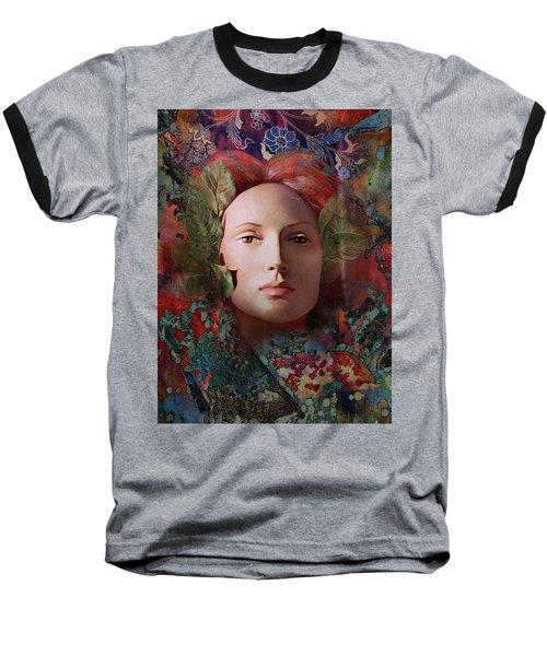 goddess art photography - Fire Queen Baseball T-Shirt