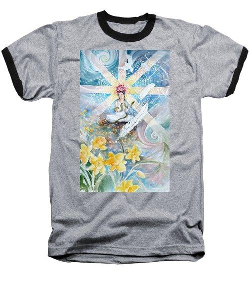Goddess Awakened Baseball T-Shirt