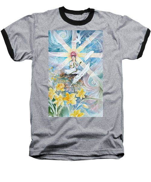 Goddess Awakened Baseball T-Shirt