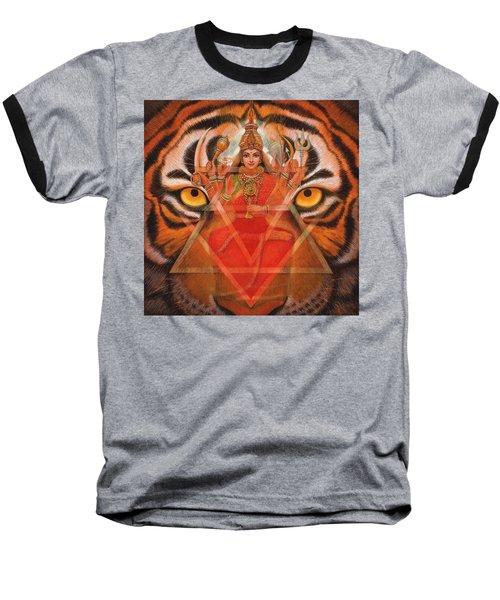 Goddess Durga Baseball T-Shirt