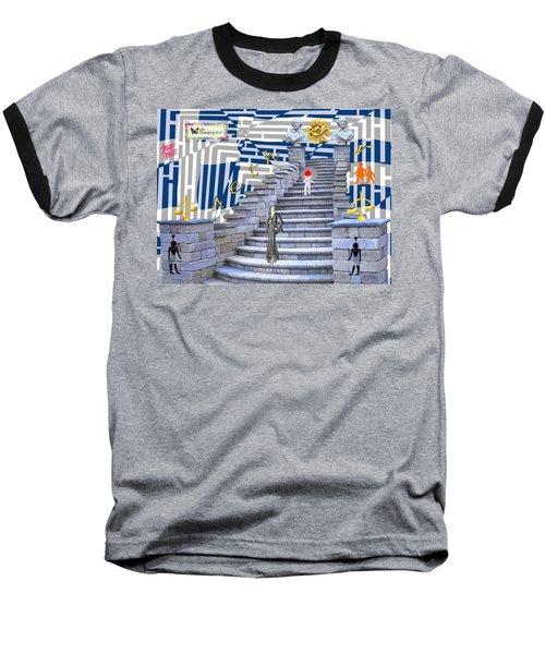 Goddess Enters Baseball T-Shirt
