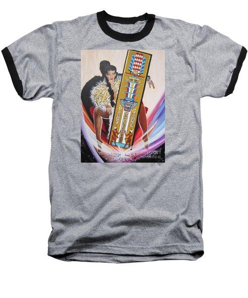 The  Tet Of Osiris Fra Blaa  Kattproduksjoner  Baseball T-Shirt