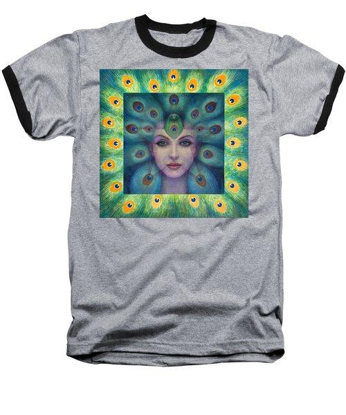Goddess Isis Visions Baseball T-Shirt