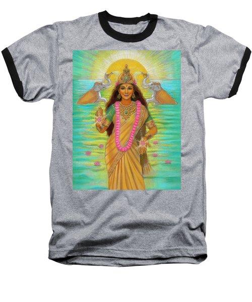 Goddess Lakshmi Baseball T-Shirt