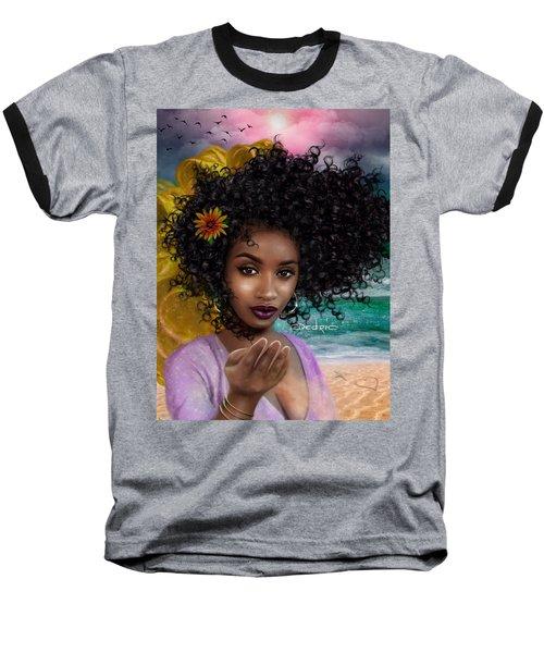 Goddess Oshun Baseball T-Shirt