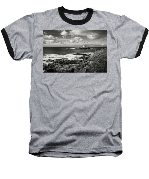 Godrevy Lighthouse 1 Baseball T-Shirt