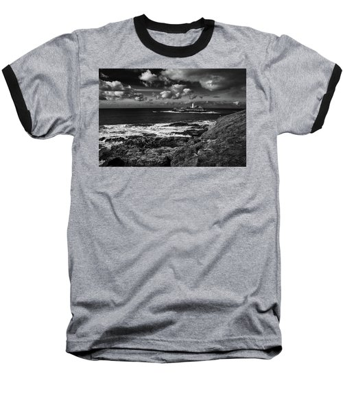 Godrevy Lighthouse 2 Baseball T-Shirt