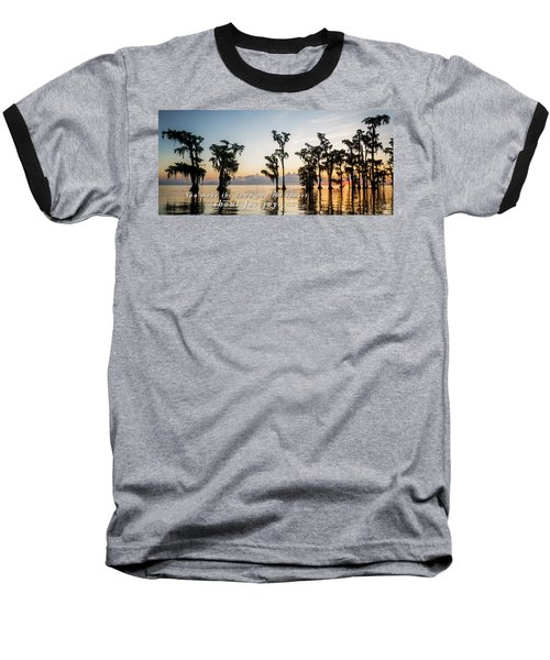 Baseball T-Shirt featuring the photograph God's Artwork by Andy Crawford