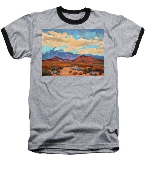 God's Creation Mt. San Gorgonio  Baseball T-Shirt by Diane McClary