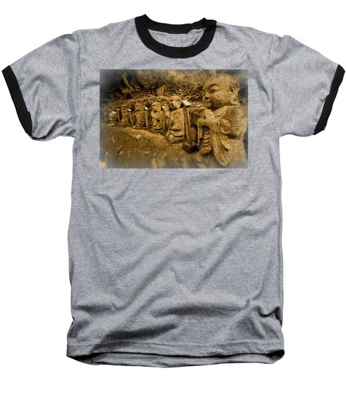 Baseball T-Shirt featuring the photograph Gods Of Japan by Daniel Hagerman