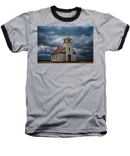 Baseball T-Shirt featuring the photograph God's Storm by Darren White