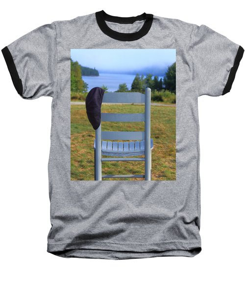 God's Waiting Room Baseball T-Shirt