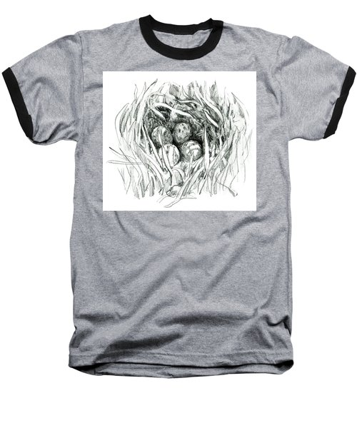 Godwit Nest Baseball T-Shirt