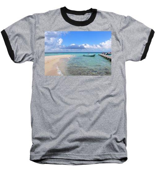 Goff's Caye Island Baseball T-Shirt
