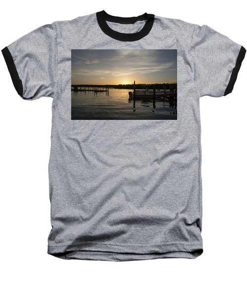 Goin Fishin Baseball T-Shirt by John Black