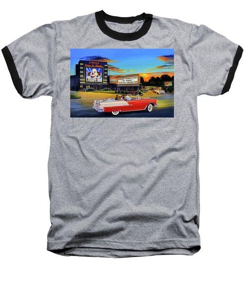 Goin' Steady - The Circle Drive-in Theatre Baseball T-Shirt