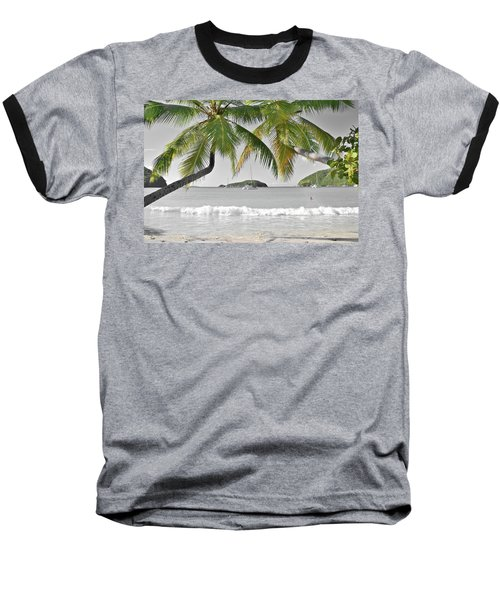Baseball T-Shirt featuring the photograph Going Green To Save Paradise by Frozen in Time Fine Art Photography