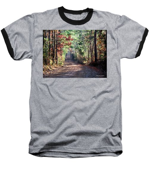 Baseball T-Shirt featuring the photograph Going Home by Betty Northcutt