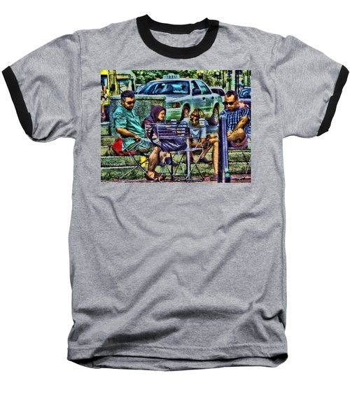 Going Places From Harvard Square Baseball T-Shirt