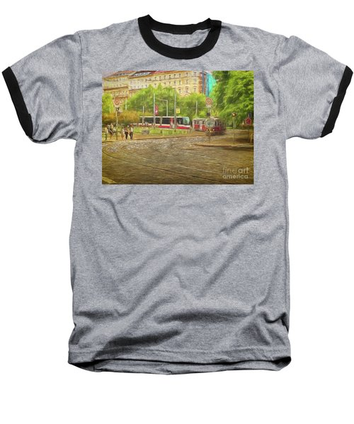 Going Slowly Round The Bend Baseball T-Shirt
