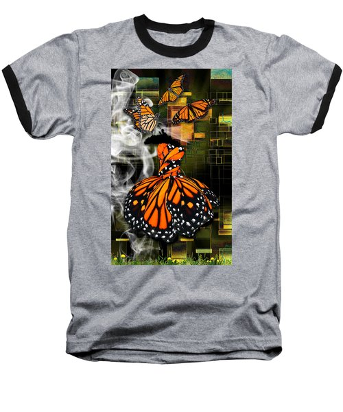 Baseball T-Shirt featuring the mixed media Going The Distance by Marvin Blaine