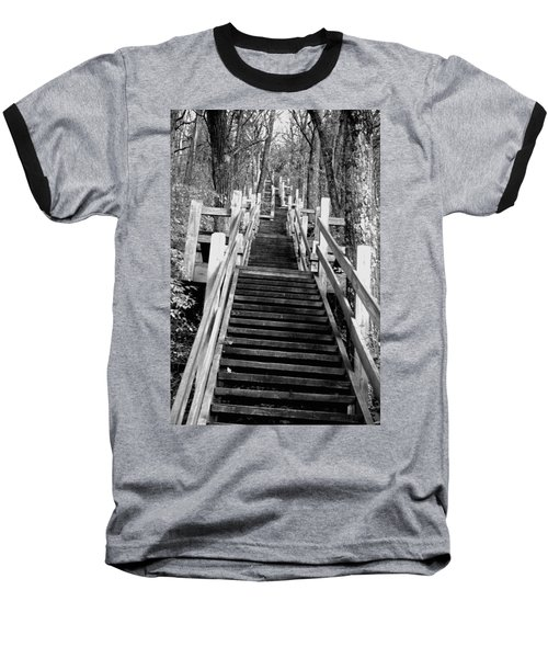 Going Up Baseball T-Shirt by Jamie Lynn