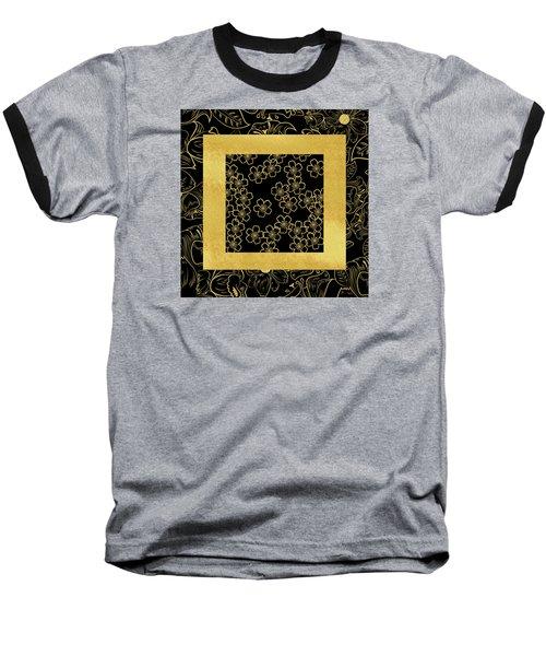 Gold And Black Baseball T-Shirt