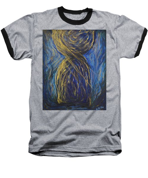 Gold And Blue Latte Stone Baseball T-Shirt