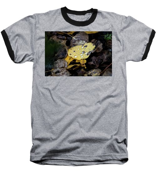 Baseball T-Shirt featuring the photograph Gold And Diamons by Stephen Holst