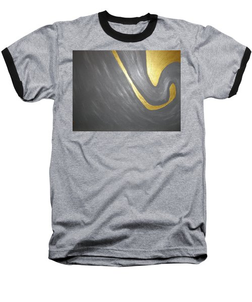 Gold And Gray Baseball T-Shirt