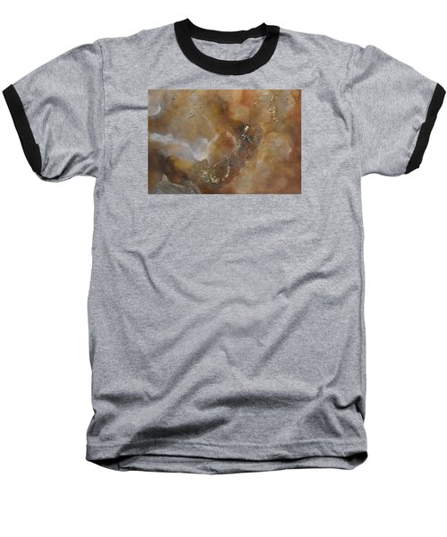 Baseball T-Shirt featuring the painting Gold Bliss by Tamara Bettencourt