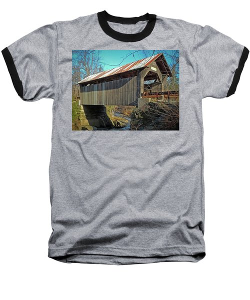 Gold Brook Bridge Baseball T-Shirt