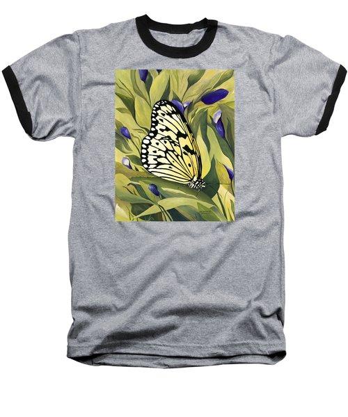Gold Butterfly In Branson Baseball T-Shirt