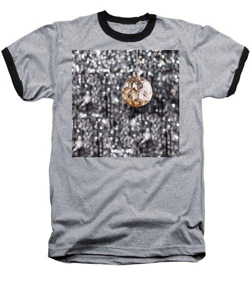 Baseball T-Shirt featuring the photograph Gold Christmas by Ulrich Schade