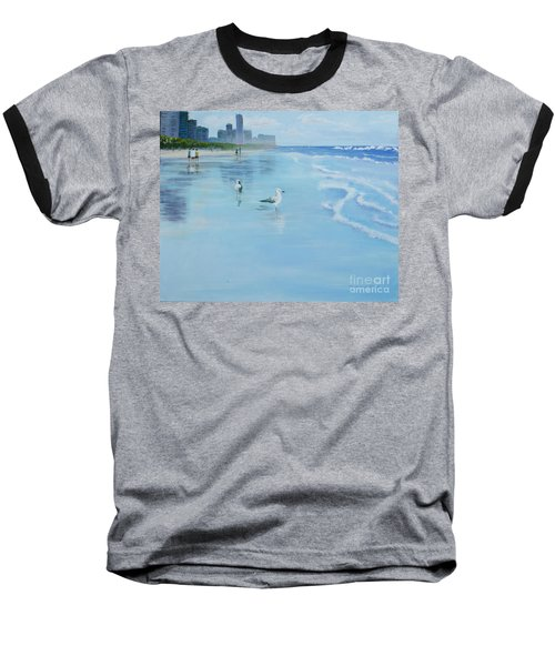 Gold Coast Australia, Baseball T-Shirt by Genevieve Brown