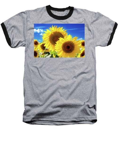 Baseball T-Shirt featuring the photograph Gold by Greg Fortier