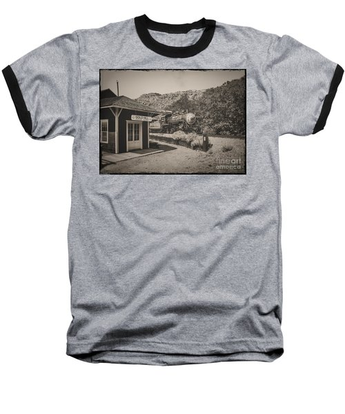 Baseball T-Shirt featuring the photograph Gold Hill Station by Mitch Shindelbower