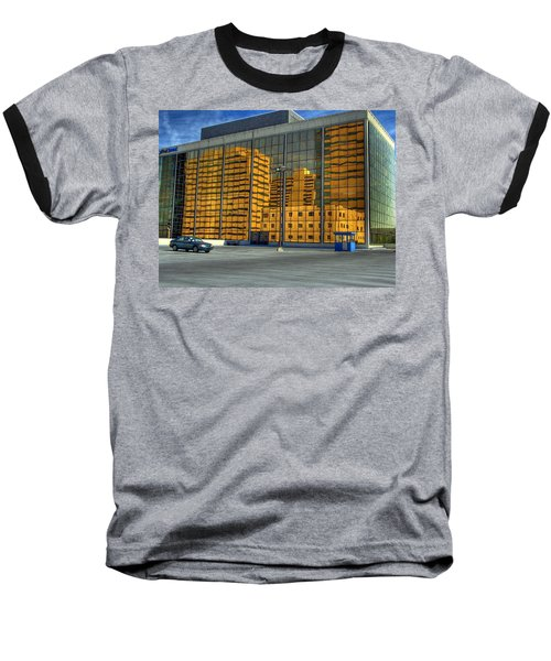Baseball T-Shirt featuring the photograph Gold In The Bank by Farol Tomson