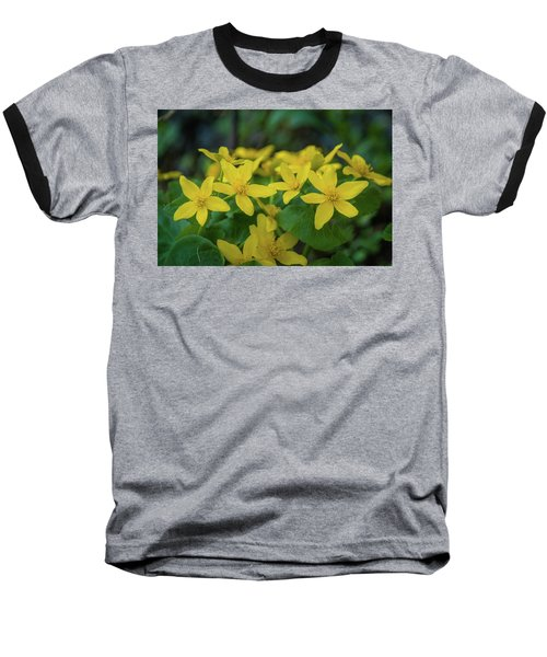 Baseball T-Shirt featuring the photograph Gold In The Marsh by Bill Pevlor