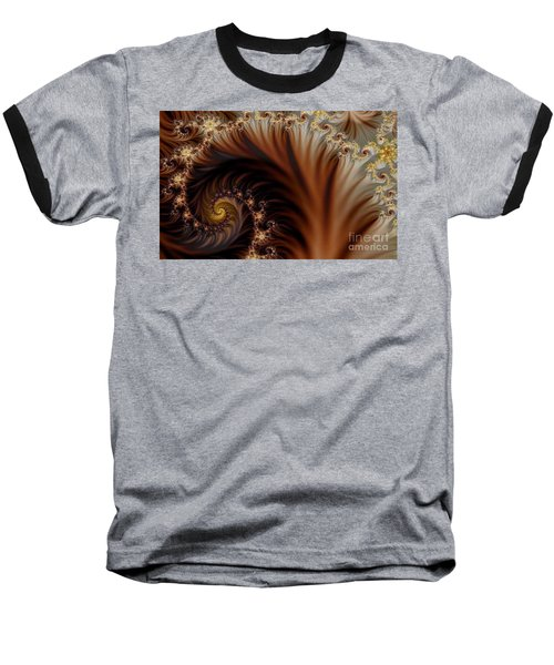Gold In Them Hills Baseball T-Shirt by Clayton Bruster