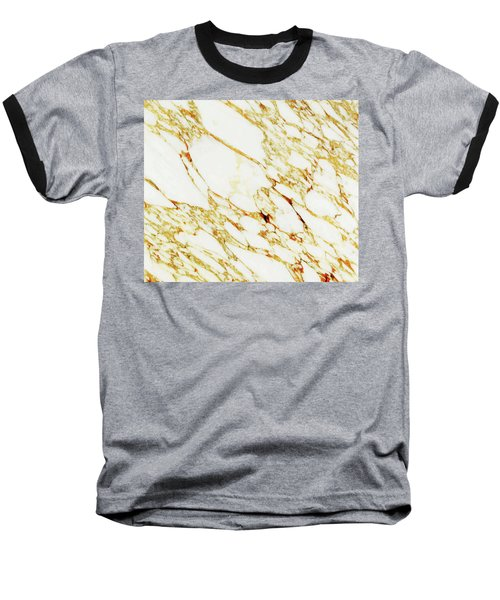 Gold Marble Baseball T-Shirt
