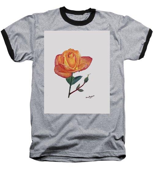 Gold Medal Rose Baseball T-Shirt