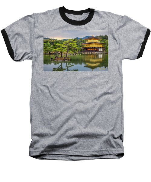 Baseball T-Shirt featuring the photograph Gold Temple,  by Rikk Flohr