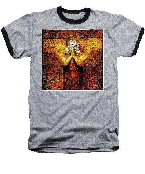 Golden Angel Baseball T-Shirt