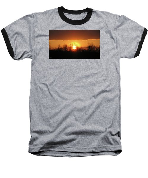 Golden Arch Sunset Baseball T-Shirt