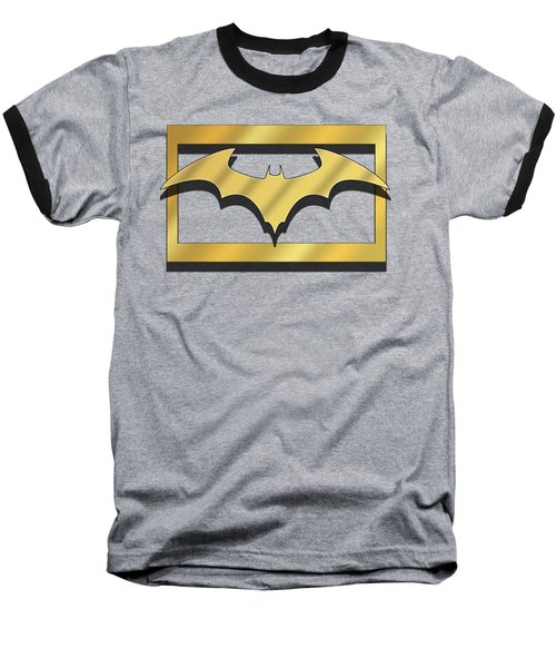 Golden Bat Baseball T-Shirt by Chuck Staley