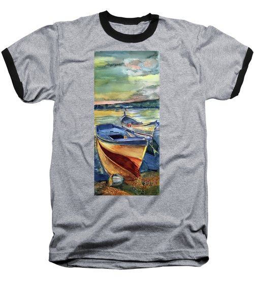 Golden Boats Baseball T-Shirt