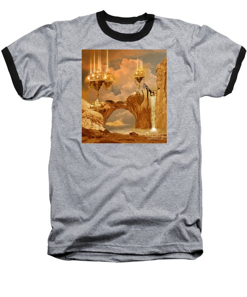 Golden City Baseball T-Shirt by Alexa Szlavics