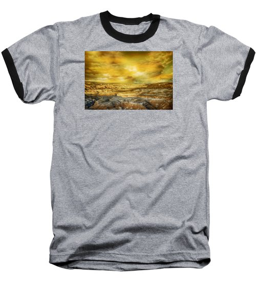 Golden Colors Of Desert Baseball T-Shirt